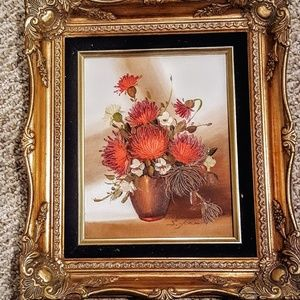 Painting Hand Painted,  Framed
